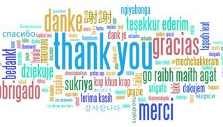 Lots of Thanks!