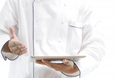 Chef with Tablet