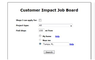 Customer Impact Job Board Mystery Shopping Road Trip