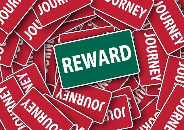 reward sign