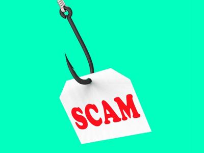 scam on hook