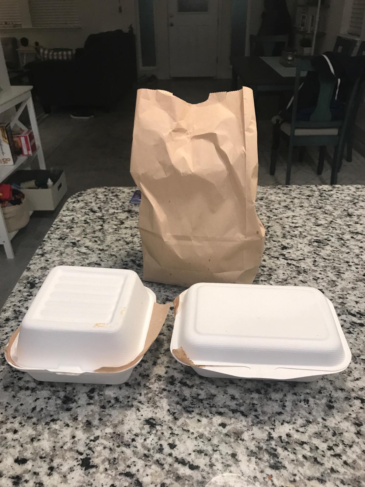Customer #1 - Food 2